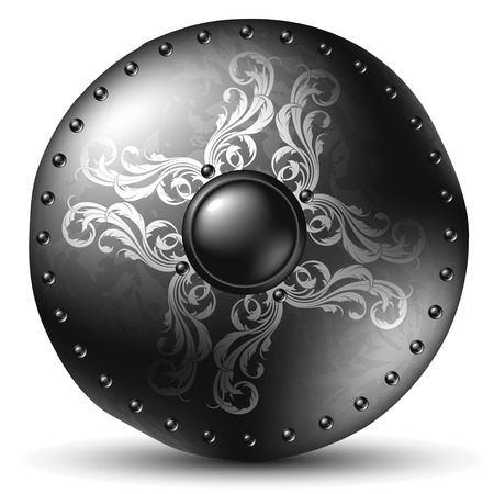 celtic background: shield celtic