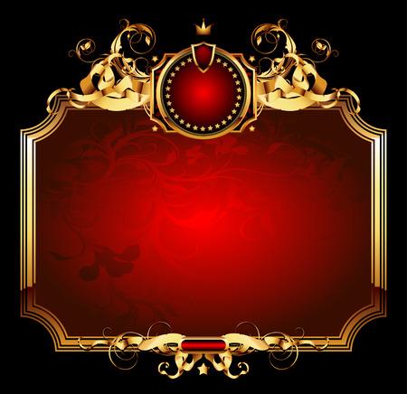 bookplate: ornate frame