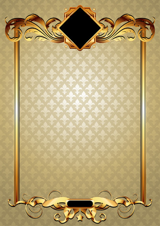 ornate frame Stock Vector - 7836540