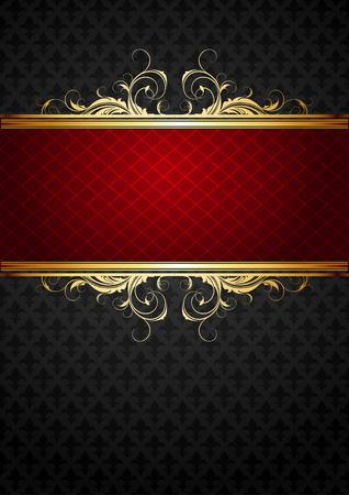 ornate frame Stock Vector - 7836543