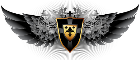 shielding: ornamental shield
