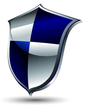escudo de armas: icono de escudo  Vectores