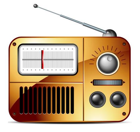fm: old FM radio icon