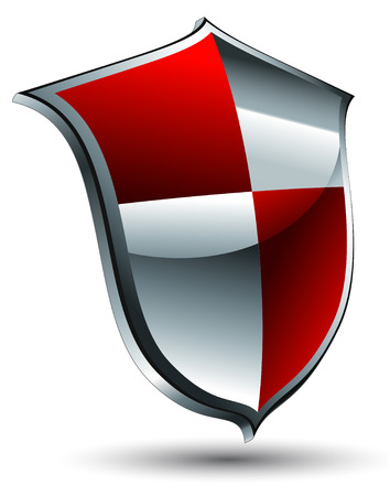 shiny shield: shield icon
