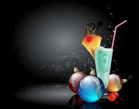 holiday food: christmas background