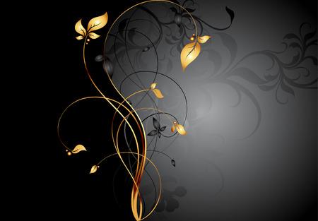 floral frame Illustration