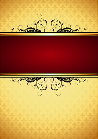 ornate frame Stock Vector - 8903193