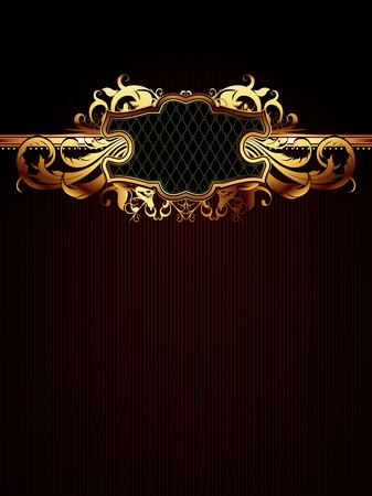 ornate frame Stock Vector - 9150540