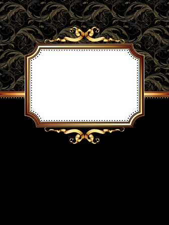 ornate frame Stock Vector - 9150554
