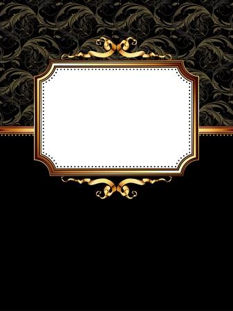 ornate frame Stock Vector - 9150554