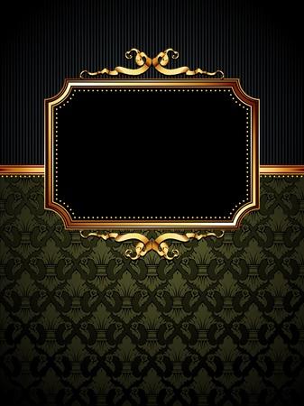 ornate frame Stock Vector - 9150550
