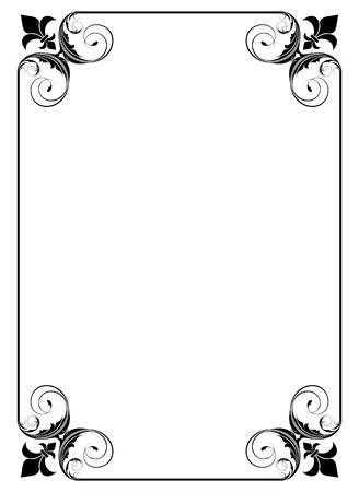 simple decorative frame Stock Vector - 9361775