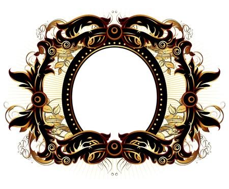 ornate frame Stock Vector - 10013969