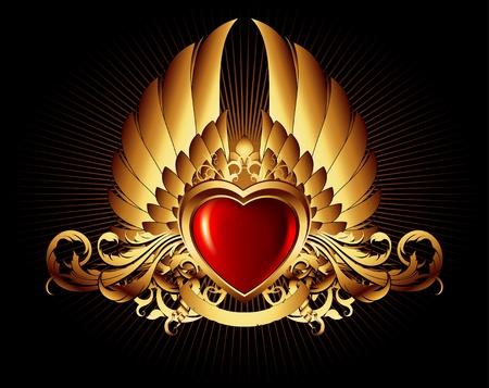 Herzrahmen Illustration