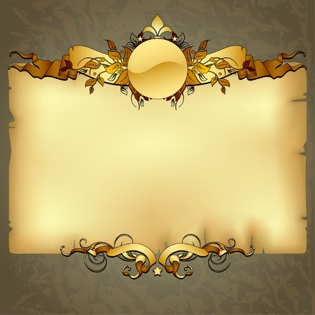 papyrus: ornate frame