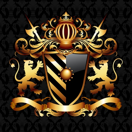 coat of arms Stock Vector - 10298655