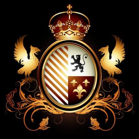 aigle royal: blason