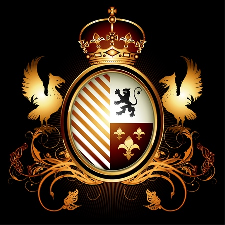 aguila real: escudo de armas
