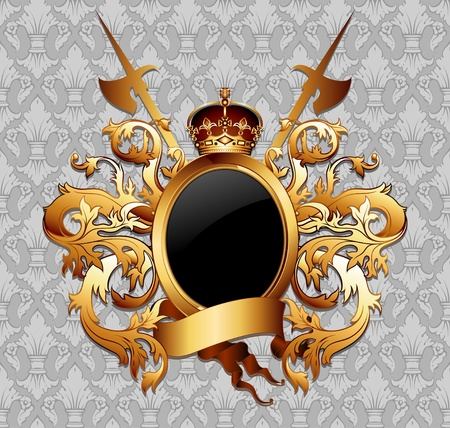 crown of light: coat of arms