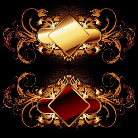 ornamental shields Stock Vector - 10300676