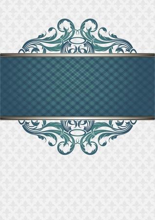 ornate frame Stock Vector - 10292381