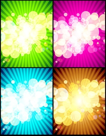 light reflex: abstract background Illustration