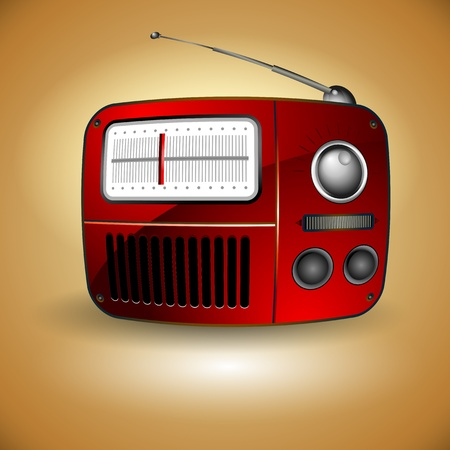 fm: old FM radio icon