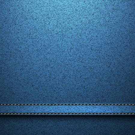 jeans texture: textil textura pantalones vaqueros de fondo Vectores
