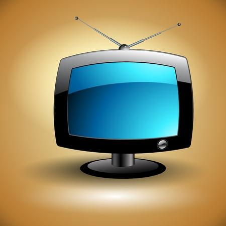 vintage television: TV icon