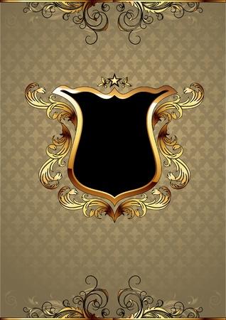 ornamental shield Stock Vector - 11531610