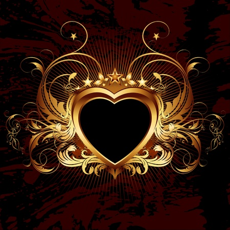heart frame Stock Vector - 12022824