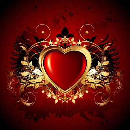heart frame Stock Vector - 12022828