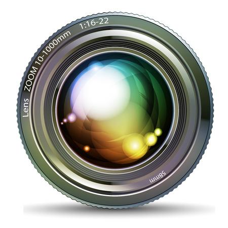 camera lens: photo lens
