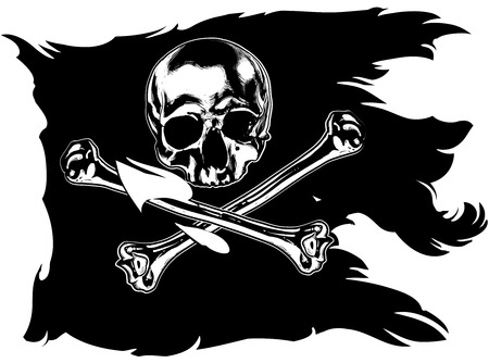 pirate flag: Jolly Roger