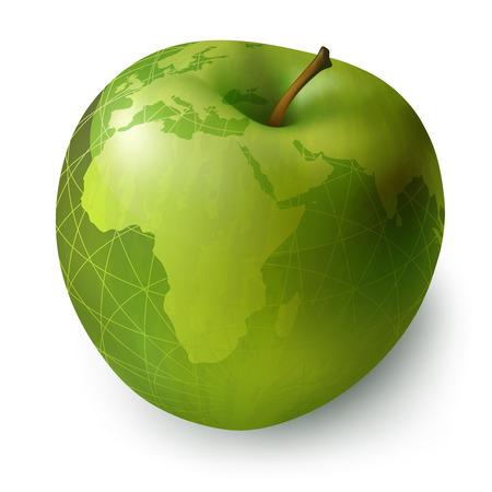 temptation: apple decorative