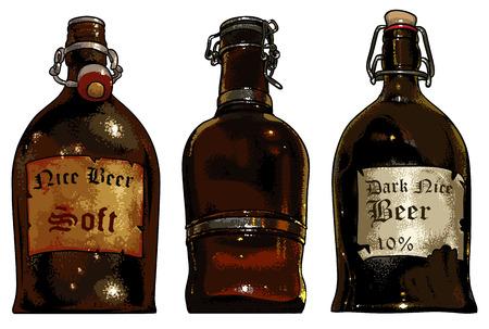 brewery  hops: set of beer elements