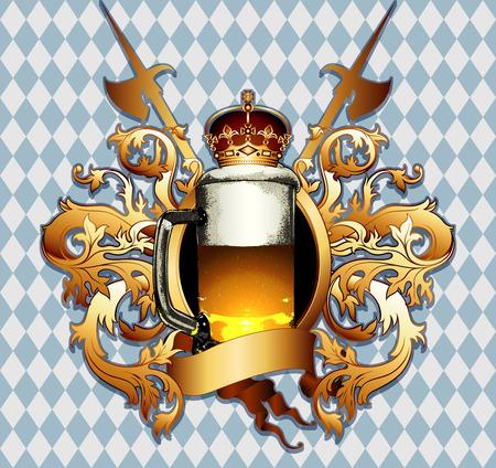 halberd: beer background