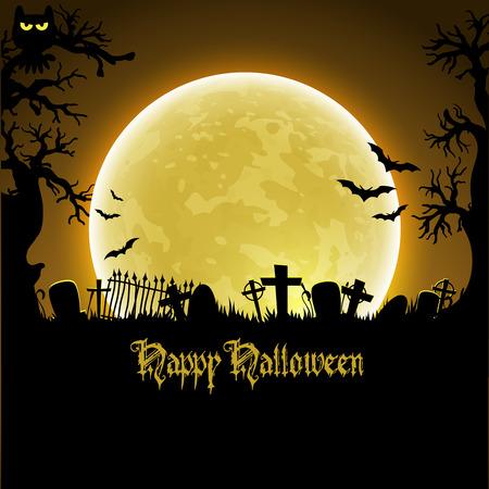 scrapbook background: Halloween background