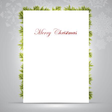 felicitation: christmas background