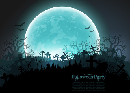 scary: Halloween background