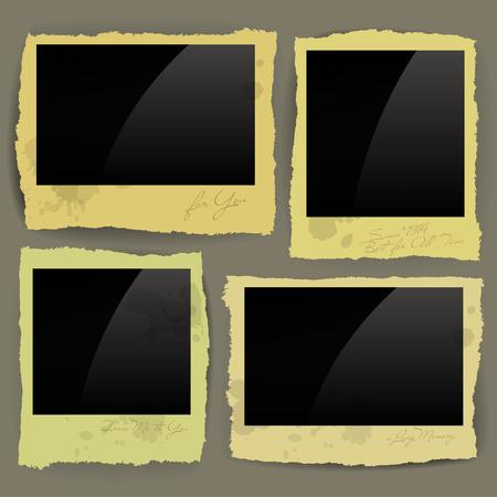 roztrhaný: roztrhané papíru design vektor