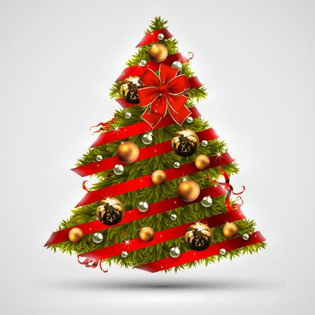 felicitation: Christmas tree design