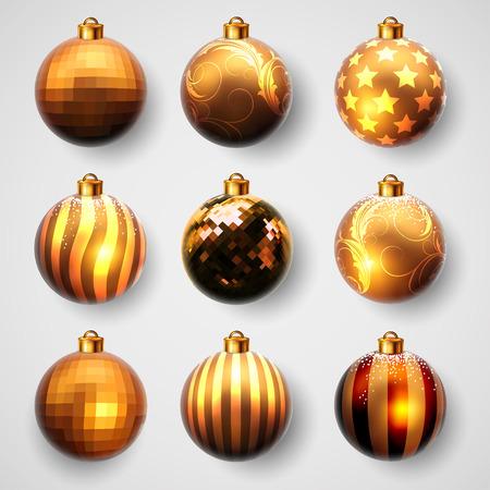 christmas ball: Christmas balls design Illustration