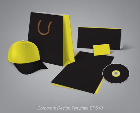 branded: design templates for the development of branded office items
