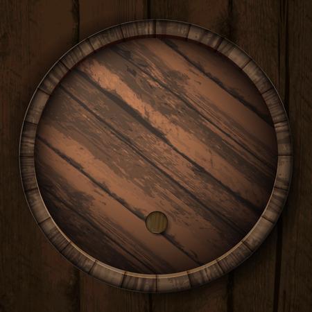 barrels: Cover casks Illustration