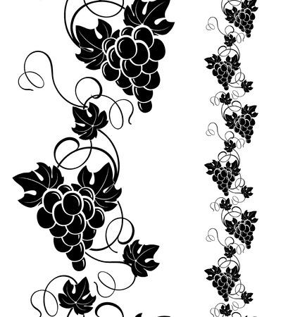 ブドウのデザイン要素
