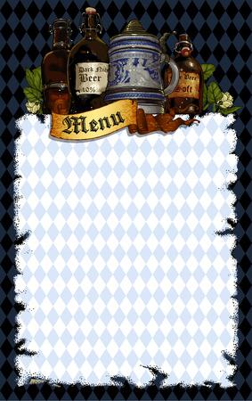 vasos de cerveza: cerveza de fondo
