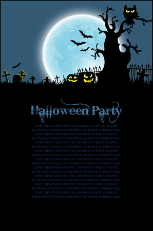 fairytale background: halloween background