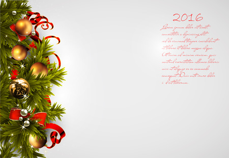 gift of hope: Christmas background with space for your text