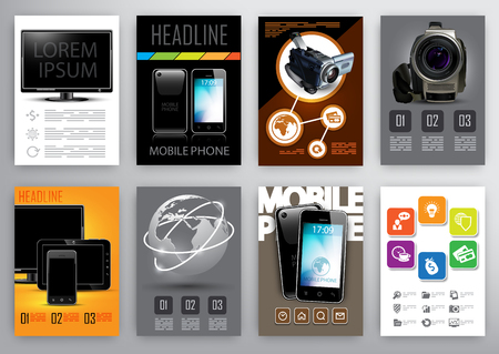 product design specification: eight design template for brochures